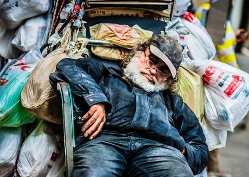homeless in toronto